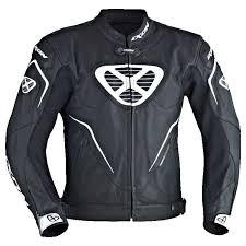 ixon orcus leather jackets black white men s clothing ixon motorcycle clothing new york