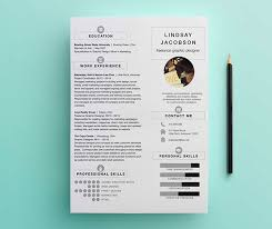 Graphic Designer Resume Best Graphic Designer Resume Template On Behance