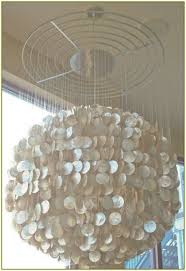large capiz shell chandelier home design ideas within capiz shell chandelier view 33 of