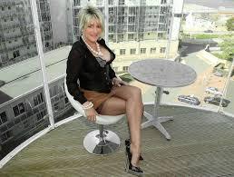 Delicious Blonde Show Huge Boobs Outdoor Tight Sexy Girl.