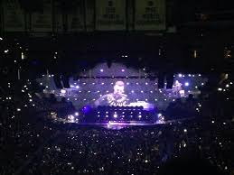 concert seat view for td garden section 308