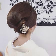 ショートの時は黒留袖での髪型4つのルールと結婚式の着物ヘアカタログ
