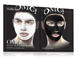 <b>Комплекс</b> мужских масок <b>двухкомпонентный</b> Детокс / Man in Black ...