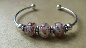 flower keepsake bead bracelet 3 bead flower keepsake bracelet