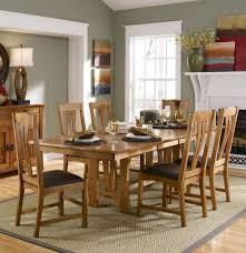 kitchen dinette sets a america furniture cattail bungalow 7 piece 60x42 extension dining room set in warm amber