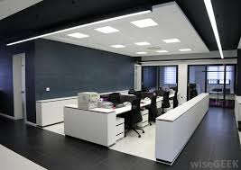 office with cubicles. Modular Office Furniture Is Designed So That It Can Be Arranged In Different Configurations, As With Cubicles. Cubicles