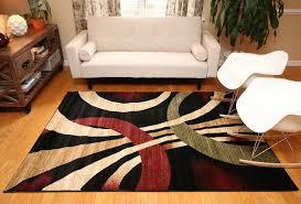 new city contemporary area rug