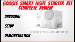 Google Home Mini Smart Light Starter Kit Google Smart Light Starter Kit Review Home Mini Ge C Life Smart Bulb