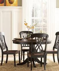 distressed cherry yorkshire five piece dining set by homebelle