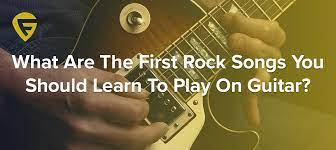Get Rock Songs To Learn On Guitar  Pics
