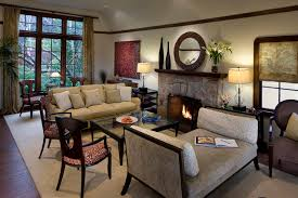 Traditional Living Room by AND Interior Design Studio
