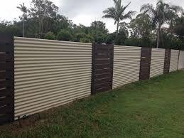 Perfect Sheet Metal Fence Corrugated 01 Inside Decorating