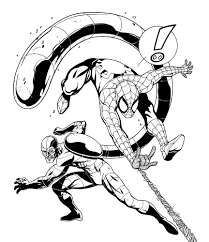 Spider Man Picture Coloring Pages