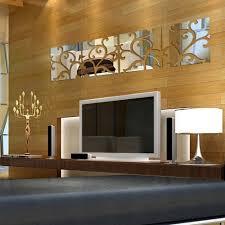 Wall Mirrors Decorative Living Room Online Get Cheap Decorative Square Mirror Aliexpresscom