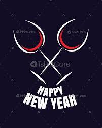 Happy New Year Shirt Design Sparkling Wine Glasses With Wish Happy New Year T Shirt Design For Party Mens Womens Kids Tshirtcare