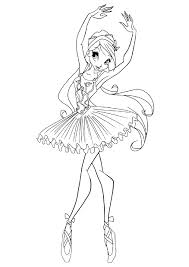 Angelina Ballerina Coloring Pages Printable Free Coloring Books
