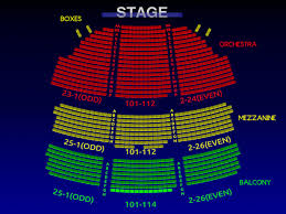Gershwin Seating Chart Seating Chart For Gershwin Theater Seating Chart For The