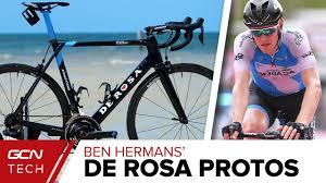 Ben Hermans Israel Cycling Academy Edition De Rosa Protos