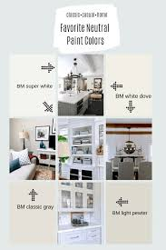 Benjamin Moore Light Pewter Vs Classic Gray Tried And True Neutral Interior Paint Shades And Finishes