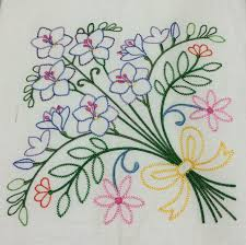 Machine Embroidery Designs For Bed Sheets Hand Embroidery Designs For Bed Sheets Ile Ilgili Görsel