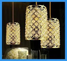 gold crystal ceiling light modern led golden crystal ceiling pendant lamp ers for dining