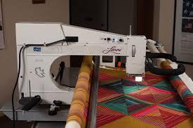 Lenni longarm quilting machine   APQS & Gallery Adamdwight.com