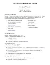sample resume for non experienced applicant sample resume for call center  agent applicant without experience sample