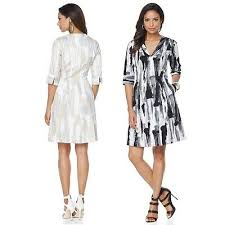 N Natori Size Chart N Natori Printed Stretch Pique Dress 465934 J 10 16 Ebay
