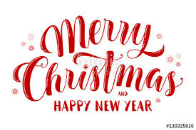 merry christmas and happy new year banner. Beautiful Happy Merry Christmas And Happy New Year Text Lettering For Greeting Cards  Banners Posters Throughout And Banner D