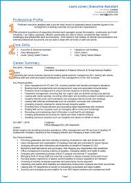 Example For Resume Example Of A Good CV 8