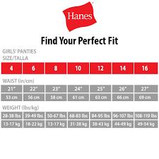 Hanes Girls Underwear 14 Pack Hipster Panties Little Girls Big Girls