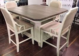 Picture of 5 PC WYATT COUNTER HEIGHT SET Exclusive Furniture - Where LOW PRICES Live!|