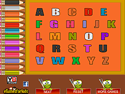Instead, they have a chance to focus on learning each letter individually, mastering its. Abc Coloring Game Play Online At Y8 Com