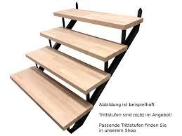 Auf treppen.de finden sie informationen, treppen projekte, und blogbeiträge zum unternehmen. 2 Stufen Treppenrahmen Stahl Treppenwange Treppenholm Geschosshohe 34cm Grau Ebay
