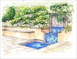 Small Picture 192 best Landscape drawing images on Pinterest Landscaping
