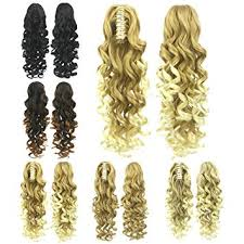 Amazon Com Curly Claw Clip Ponytail Extension Remeehi