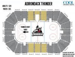 Thunder Game Seating Chart Seating Charts