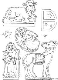 Small Picture nativity diorama christmas coloring pages 07 Christmas Ideas