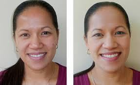 mineral makeup jasmin before and after