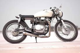 honda cl350 cafe racer by motofiaccone