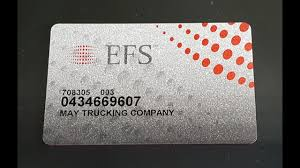 how to fill out efs checks and pay lumpers
