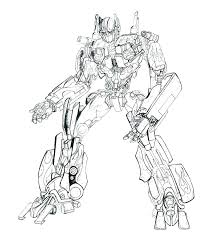 Coloring Pages Optimus Prime Coloring Page Printable Pages To