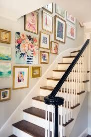 stair wall art ideas
