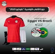 نتيجة مباراة منتخب مصر والبرازيل الاولمبي في دور ربع النهائي من اولمبياد  طوكيو - يلا شووت الاخباري
