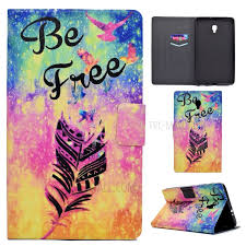 Fragrant Leather Card Holder Smart Tablet Cases for Samsung Galaxy Tab A 8.0 (2017)