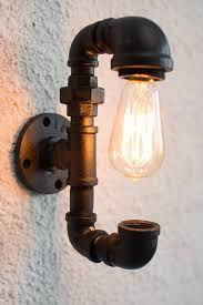 2 wall lighting fixture with spectacular light bulb