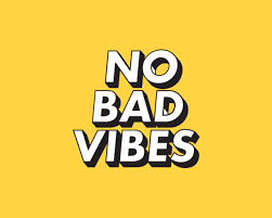 No bad vibes, yellow aesthetic ...
