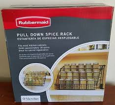 Rubbermaid Coated Wire In Cabinet Spice Rack Rubbermaid Coated Wire InCabinet Spice Rack Storage Organizer 29