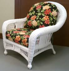 Appealing Wicker Patio Furniture Cushions with Wicker Replacement