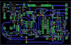 dc cdi 16f628 v2 cdi for single cylinder board layout